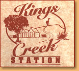 Kings Creek Station - Accommodation Sunshine Coast