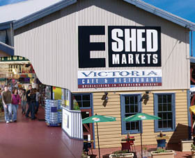 The E Shed Markets - Accommodation Sunshine Coast