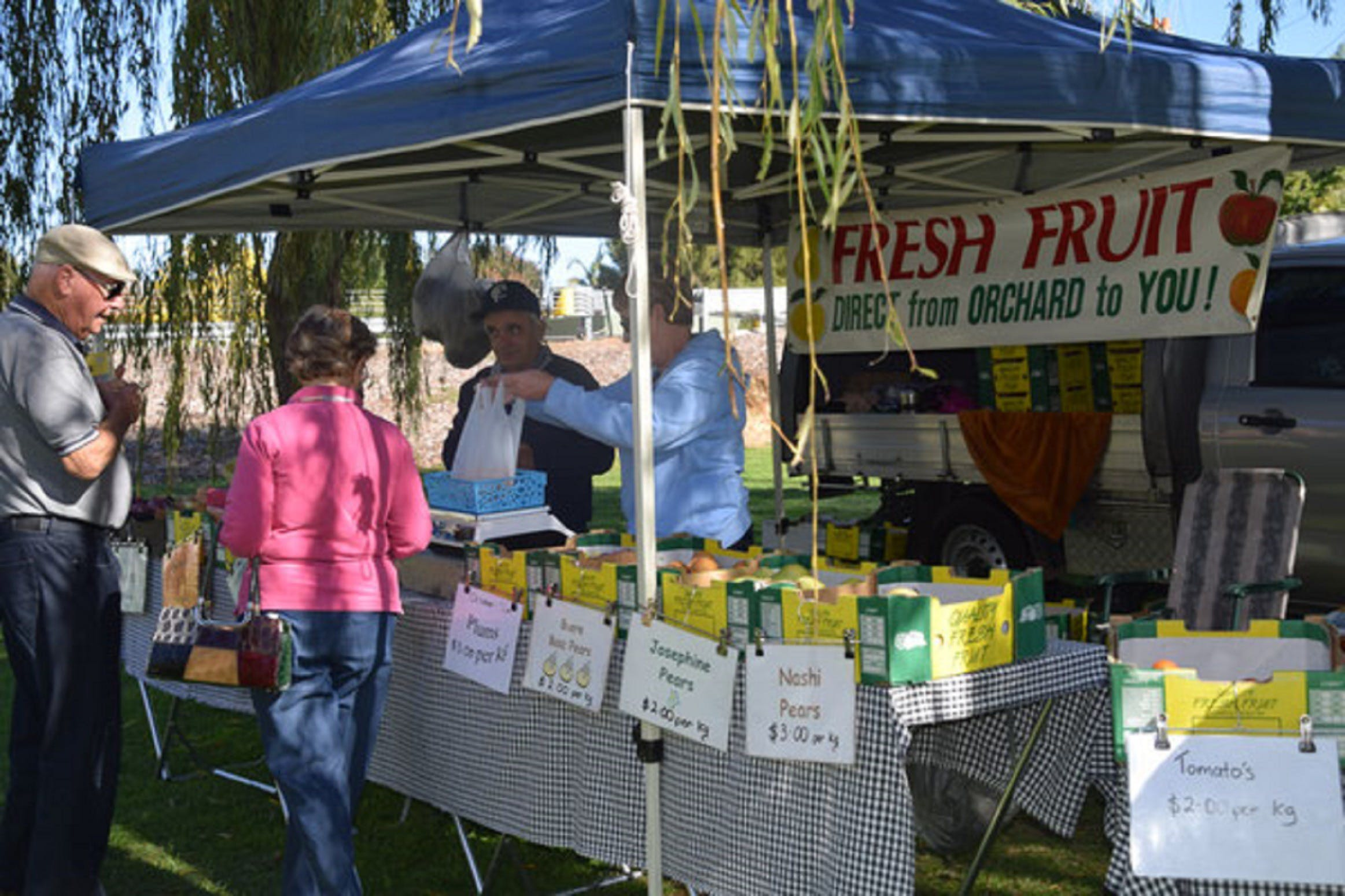 Corowa Rotary Federation Festival Market - Accommodation Sunshine Coast